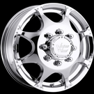 Vision - 715 Crazy Eights Duallie Front - Chrome