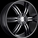 VCT - V68-Torino - Black & Machined