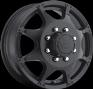 Vision - 715 Crazy Eight Duallie Front - Black