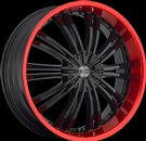 Crave Alloys - N0.01 RED LIP - Black
