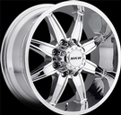 MKW - M89 - 8 Lug - Chrome