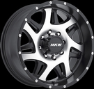 MKW - M91 8 LUG - Black & Machined