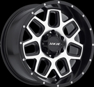 MKW - M92 6 LUG - Black & Machined