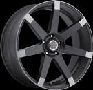 Milanni - 9042 Sultan - Matte Black Anthracite Spoke Ends