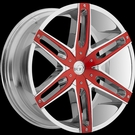 VCT - V8 - Chrome Red Inserts