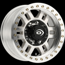 Vision - 398 Manx Competition Beadlock 8 - Unfinished Wheel & Ring