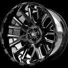 V-Rock Off-Road - VR10 Recoil - Gloss Black Milled